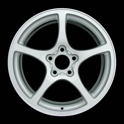 Chevrolet Corvette 2000-2000 17x8.5 Bright Silver Factory Replacement Wheels
