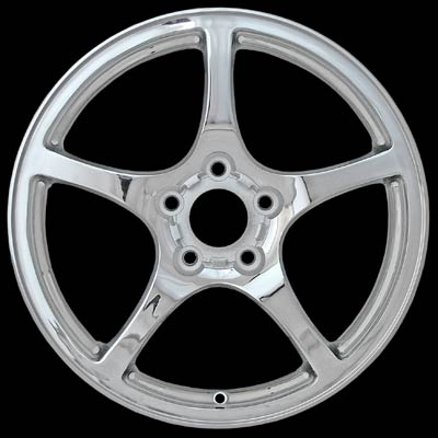 Chevrolet Corvette 2000-2004 18x9.5 Polished Factory Replacement Wheels