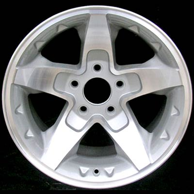 Chevrolet S-10 Pickup 2001-2004 16x8 Machined Factory Replacement Wheel
