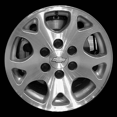 Chevrolet Tahoe 2001-2006 17x7.5 Silver Factory Replacement Wheels