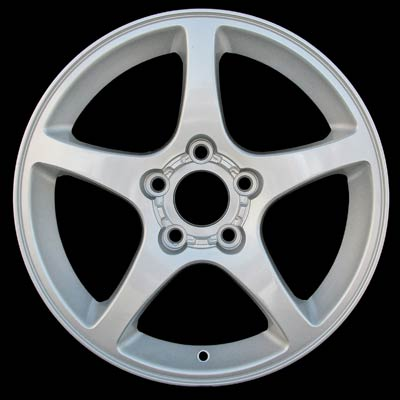 Chevrolet Corvette 2000-2004 18x9.5 Silver Factory Replacement Wheels