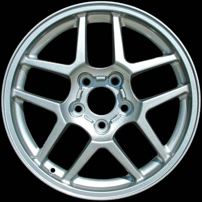 Chevrolet Corvette 2001-2002 17x9.5 Silver Factory Replacement Wheels