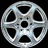 2007 Gmc Sierra  17x7.5 Polished Factory Replacement Wheels