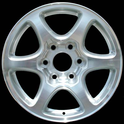 Gmc Sierra 2002-2007 17x7.5 Polished Factory Replacement Wheels