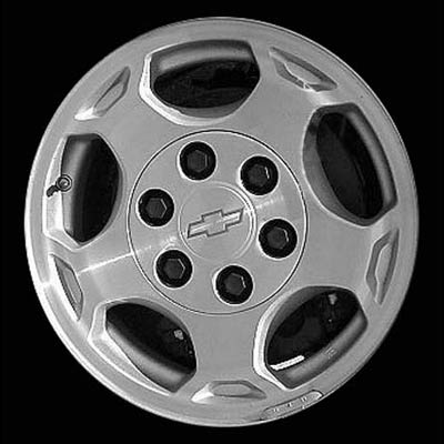 Chevrolet Silverado 2003-2004 16x7 Brushed Factory Replacement Wheels