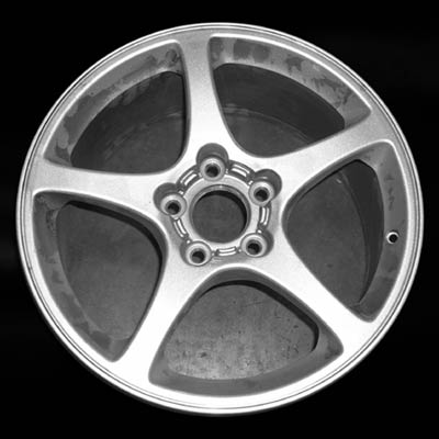 Chevrolet Corvette 2003-2003 17x8.5 Silver Factory Replacement Wheels