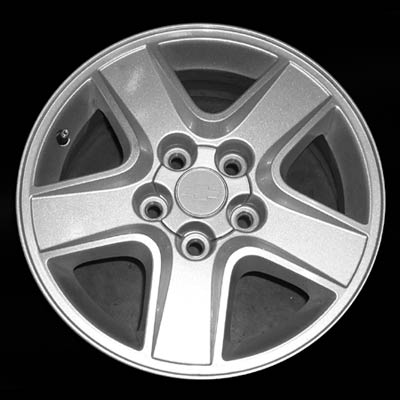 Chevrolet Impala 2004-2005 15x6.5 Silver Factory Replacement Wheels