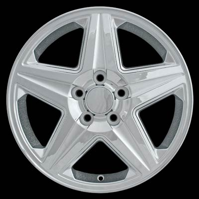 Chevrolet Impala 2004-2005 17x6.5 Silver Factory Replacement Wheels