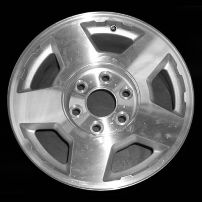 Chevrolet Silverado 2004-2007 17x7.5 Silver Factory Replacement Wheels
