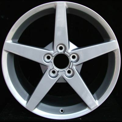 Chevrolet Corvette 2005-2007 18x8.5 Silver Factory Replacement Wheels