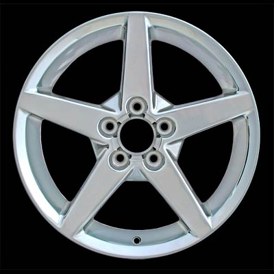 Chevrolet Corvette 2005-2007 18x8.5 Polished Factory Replacement Wheels