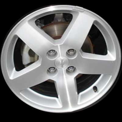Chevrolet Cobalt 2005-2006 16x6 Silver Factory Replacement Wheels