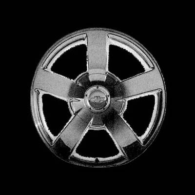 Chevrolet Full Size Pickup 2003-2009 20x8.5 Silver Factory Replacement Wheels