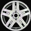 2005 Chevrolet Cobalt  15x6 Silver Factory Replacement Wheels