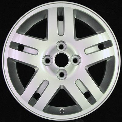 Chevrolet Cobalt 2005-2006 15x6 Silver Factory Replacement Wheels