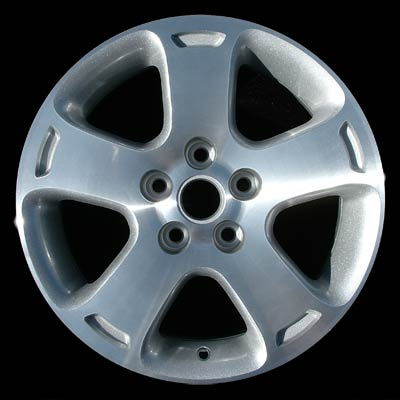 Chevrolet Hhr 2006-2007 16x6.5 Silver Factory Replacement Wheels