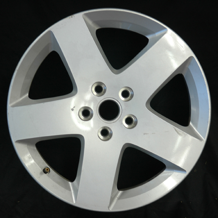 Chevrolet Hhr 2006-2007 17x6.5 Silver Factory Replacement Wheels