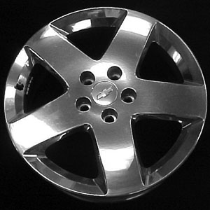 Chevrolet Hhr 2006-2007 17x6.5 Polished Factory Replacement Wheels