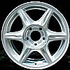 Oldsmobile Alero 1999-1999 15x6 Bright Silver Factory Replacement Wheel