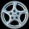 2001 Pontiac Firebird  16x8 Silver Factory Replacement Wheels