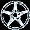 2000 Pontiac Firebird  17x9 Polished Factory Replacement Wheels