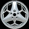 2000 Pontiac Grand Prix  16x6.5 Bright Silver Factory Replacement Wheels