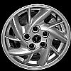 2001 Pontiac Grand Am  15x6 Bright Silver Factory Replacement Wheels