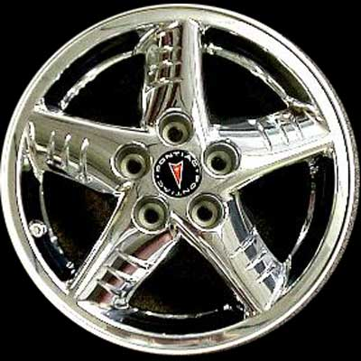 Pontiac Grand Am 2002-2005 16x6.5 Chrome Factory Replacement Wheels