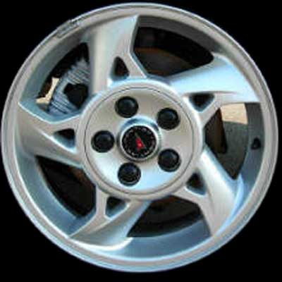 Pontiac Grand Am 2002-2005 16x6.5 Silver Factory Replacement Wheels
