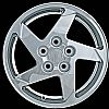 2004 Pontiac Grand Prix  16x6.5 Chrome Factory Replacement Wheels