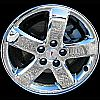 Pontiac G6 2005-2008 17x7 Blk Chrome Factory Replacement Wheels