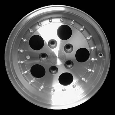 Jeep Wrangler 1991-1999 15x8 Brushed Factory Replacement Wheels