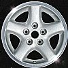 2002 Jeep Cherokee  15x7 Bright Silver Factory Replacement Wheels
