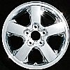 2004 Jeep Grand Cherokee  17x7.5 Cladded Factory Replacement Wheel