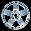 2007 Jeep Grand Cherokee  17x7.5 Cladded Factory Replacement Wheel
