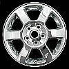 2006 Jeep Commander  17x7.5 Chrome Factory Replacement Wheels