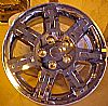 2008 Jeep Commander  18x7.5 Chrome Factory Replacement Wheels