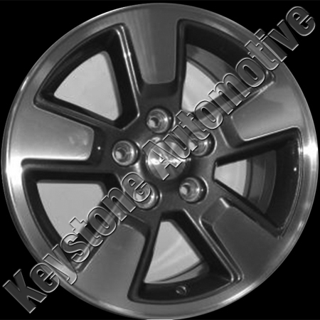 Jeep Liberty 2008-2009 16x7 Chrome Factory Replacement Wheels