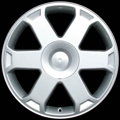 Audi S4 2000-2002 17x7.5 Silver Factory Replacement Wheels