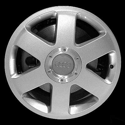 Audi TT 2000-2002 17x7.5 Bright Silver Factory Replacement Wheels