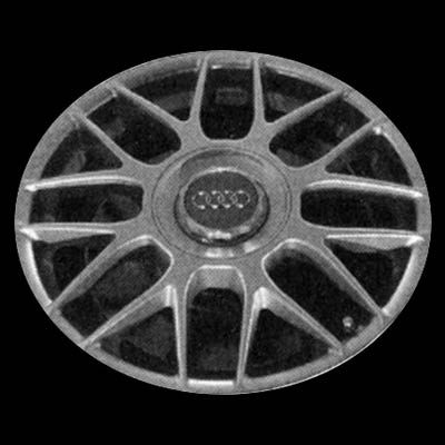 Audi A6 2001-2004 17x7.5 Silver Factory Replacement Wheels