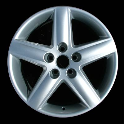 Audi A4 2002-2006 17x7.5 Bright Silver Factory Replacement Wheels