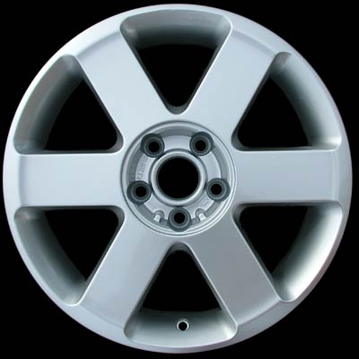 Audi A4 2003-2005 17x7 Silver Factory Replacement Wheels