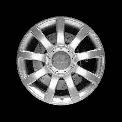 Audi A6 2003-2004 18x8.5 Silver Factory Replacement Wheels