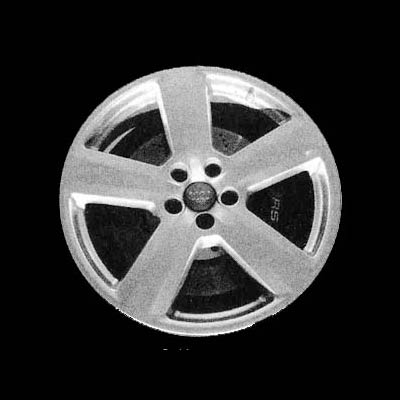 Audi A6 2003-2004 18x7.5 Silver Factory Replacement Wheels