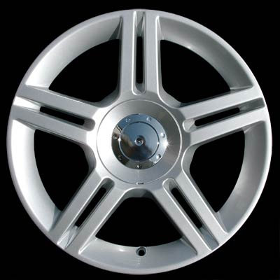 Audi A4 2006-2007 17x7.5 Silver Factory Replacement Wheels