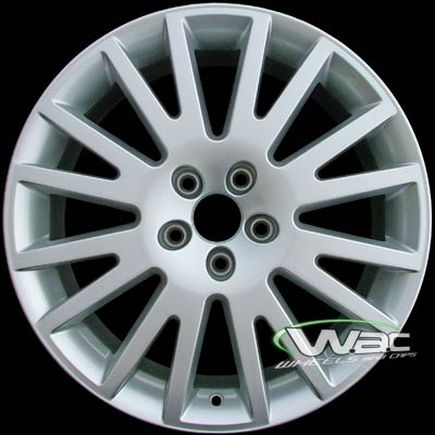 Audi A3 2006-2008 17x7.5 Silver Factory Replacement Wheels