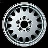 1992 Bmw 3 Series  15x7 Silver Factory Replacement Wheels