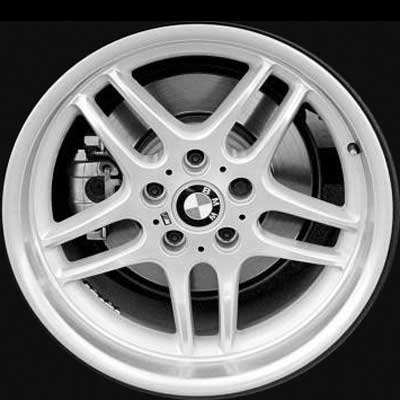 Bmw 7 Series 1998-2001 18x8 Silver Factory Replacement Wheels