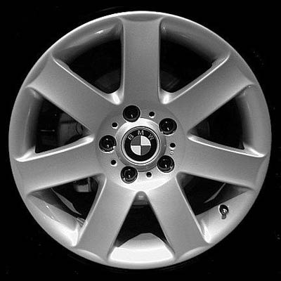 Bmw 7 Series 2000-2001 17x8 Silver Factory Replacement Wheels